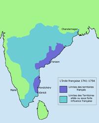 Французская Индия в 1741—1754гг.