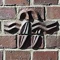 Friedhof Ohlsdorf (Hamburg-Ohlsdorf).Neues Krematorium.Bauschmuck.Kuöhl.Florale Keramik.1d.29622.ajb.jpg