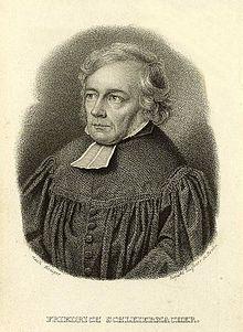 Friedrich Schleiermacher (Quelle: Wikimedia)