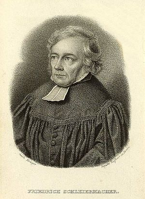 Schleiermacher, Friedrich (1768-1834)
