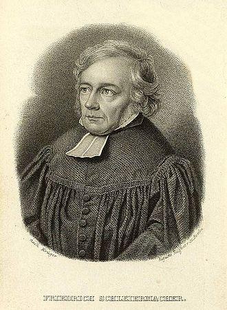 Friedrich Schleiermacher - Image: Friedrich Daniel Ernst Schleiermacher