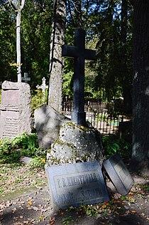 Friedrich Reinhold Kreutzwaldi haud.JPG