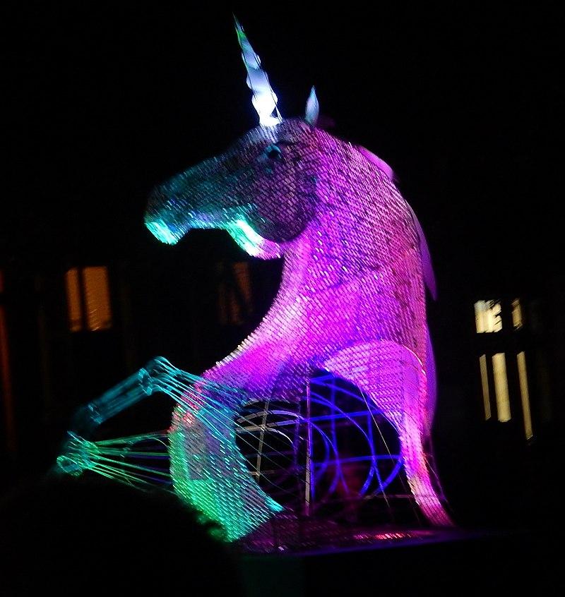 Fringe Mascot- Unicorn (33506498375).jpg