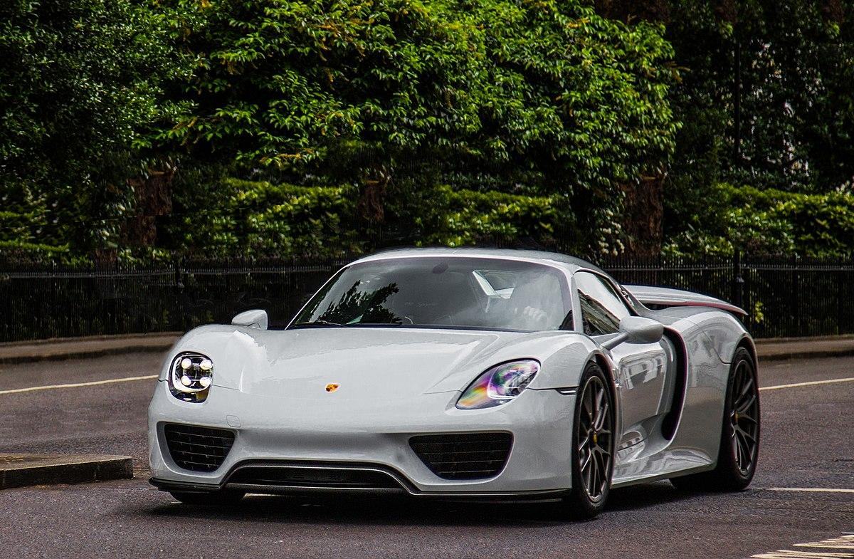Porsche 918 Spyder >> Porsche 918 - Wikipedia