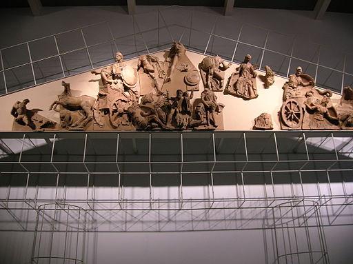 Mostra permanente del Frontone di Talamone, Caserma Umberto I