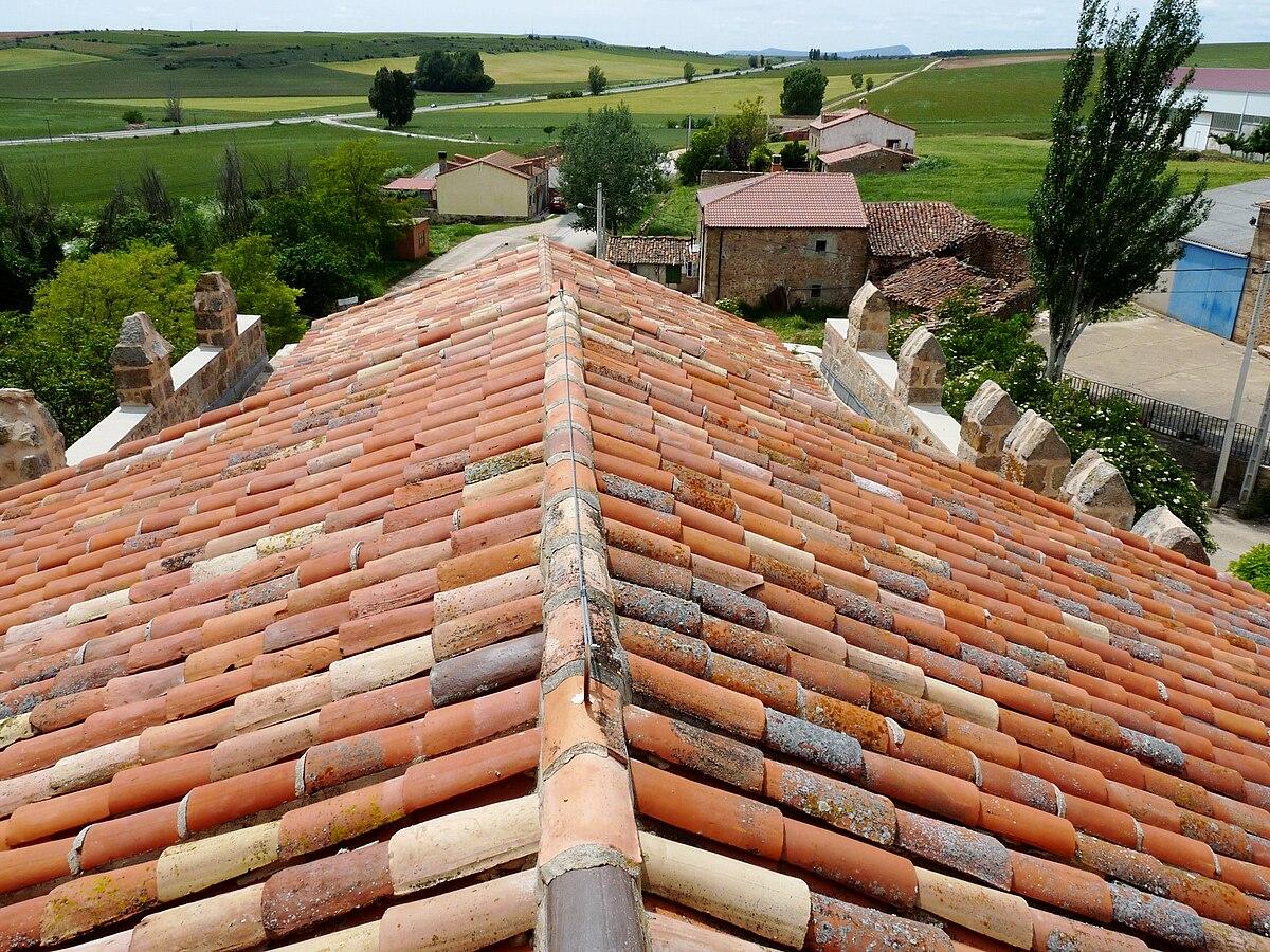 Cumbrera wikipedia la enciclopedia libre for Tipos de tejados de casas