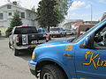 Funeral procession of taxicabs, Fairbanks, Alaska.JPG