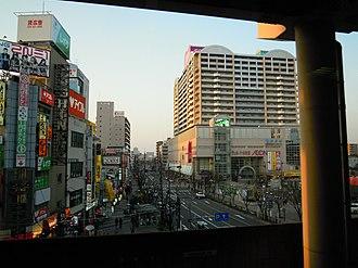 Higashiōsaka - DownTown of Fuse