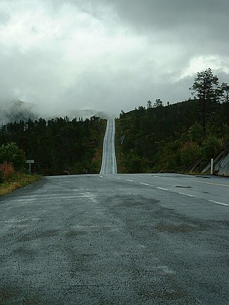 Grong - Image: Fylkesvei 74, Nord Trøndelag