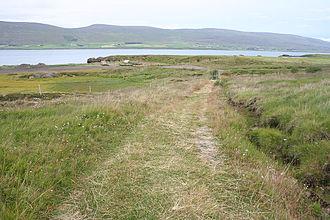 Gásir - Road to Gásir Iceland
