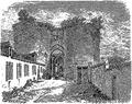 Géographie de la Sarthe - Porte du château de Sablé.png