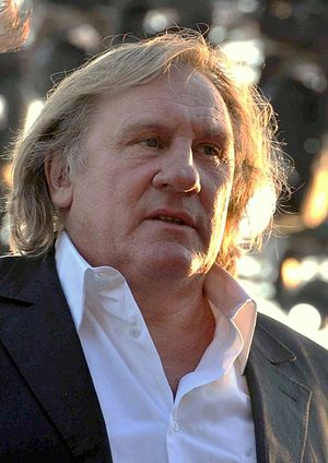 British Film Institute Fellowship - Image: Gérard Depardieu Cannes 2010