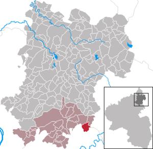 Görgeshausen - Image: Görgeshausen im Westerwaldkreis