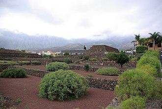 Pyramids of Güímar - Image: Güímar BW 2