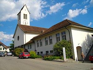 Muri bei Bern - Image: Gümligen Kirche