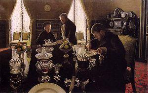 1876 in art - Image: G. Caillebotte Le déjeuner