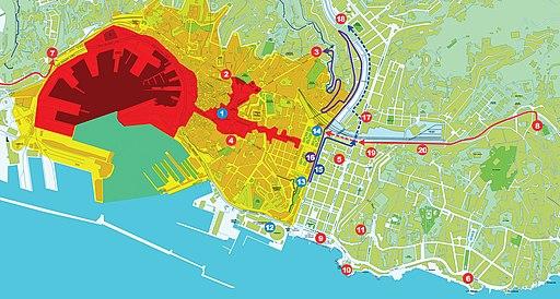 G8 genova map