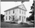 GENERAL PERSPECTIVE VIEW OF ACADEMY - Mauricetown Academy, 118 High Street, Mauricetown, Cumberland County, NJ HABS NJ,6-MAUR,4-1.tif