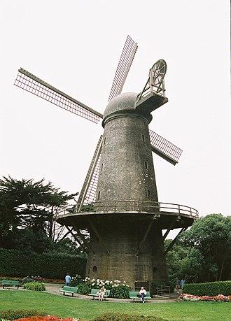 Golden Gate Park windmills - Image: GG Park North Windmill