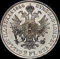 GOW 2 gulden 1866 A reverse.jpg