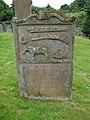 Gamekeeper's grave, Kells Churchyard - geograph.org.uk - 867126.jpg