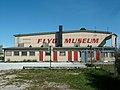 Gamla hangaren vid Visby flygplats.JPG