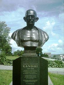gandhi-mort