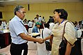 Ganga Singh Rautela and Madhuvanti Ghosh - Buffet Lunch - VMPME Workshop - Science City - Kolkata 2015-07-18 9841.jpg