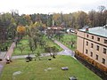 Garden of the Franciscan monastery in Katowice Panewniki 2012 002.JPG
