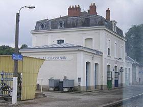 Image illustrative de l'article Gare de Saillat - Chassenon