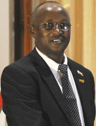 Vice-President of Burundi - Image: Gaston Sindimwo
