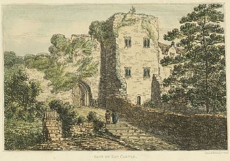 Hay Castle - Depiction of the castle in 1816
