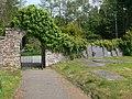 Gate to St Ceinwen's Church, Llangeinwen - geograph.org.uk - 1874493.jpg