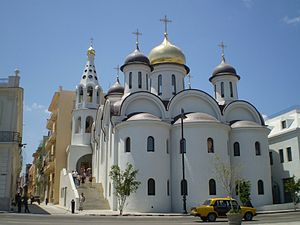 Our Lady of Kazan Orthodox Cathedral - The cathedral