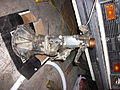 Gearbox out - Datsun 210 4 speed (5177365165).jpg