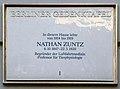 Gedenktafel Bleibtreustr 38-39 (Charl) Nathan Zunzt.jpg