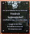 Gedenktafel Bundesplatz 17 (Wilmd) Friedrich Seidenstücker2.jpg