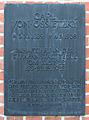 Gedenktafel Seidelstr 39 (Tegel) Carl von Ossietzky.JPG