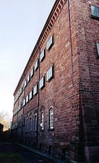 Gefängnis Lörrach Fassade lang