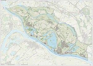 Rijnwaarden - Image: Gem Rijnwaarden Open Topo