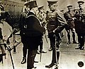 General John J. Pershing with the Lord Mayor of London, Liverpool, 1917 (30061862212).jpg