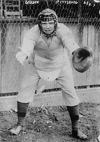 George Gibson (baseball) - Gibson in his catcher's gear, with the Pittsburgh Pirates in 1908.