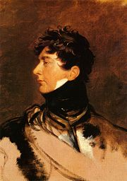 George, Prince of Wales, acted as Prince-Regent from 1811 to 1820
