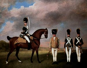 10th Royal Hussars - Uniforms of the 10th Hussars, 1793