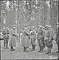 German General Hans Feige presenting the Iron Cross to soldiers of the Finnish 6th Division.jpeg