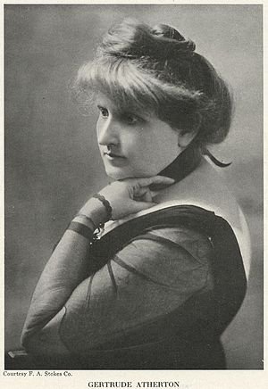 Gertrude Atherton - Gertrude Atherton early in her career.
