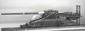 Image illustrative de l'article 80 cm Kanone (E) Schwerer Gustav