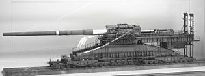 Schwerer Gustav - Model of the Dora