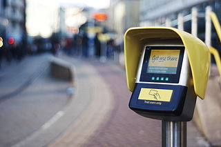 electronic ticketing system in Manchester, UK