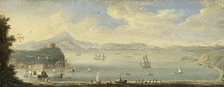 View of the Gulf of Naples
